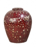 Mystic Ocean Wine Jar red