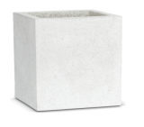 Capi Lux Pot square I light grey