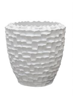 Pot & vaas Shell shapes vase matt white