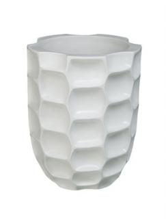 Pot & vaas Honey vase matt white