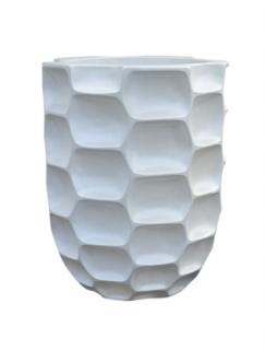 Pot & vaas Honey vase pearl white
