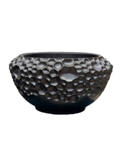 Pot & vaas Soap bowl black matt