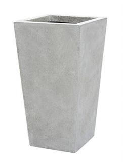 Capi Lux Planter tapering. II light grey