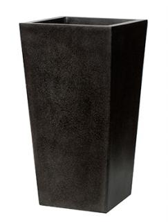 Capi Lux Planter tapering. II black