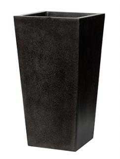 Capi Lux Planter tapering. III black