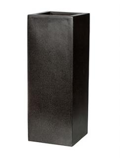 Capi Lux Planter square I black