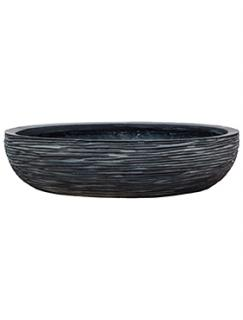 Capi Nature Bowl round rib III black