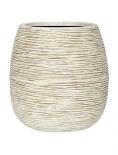 Capi Nature Pot rib ball II ivory
