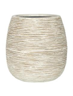 Capi Nature Pot rib ball III ivory