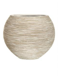 Capi Nature Vase ball rib II ivory